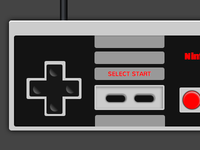 Nes Controller in CSS