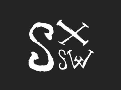Pumped for SXSW sxsw sxsw2013 lettering type