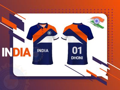 Indian Cricket Team Uniform Concept