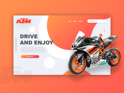 KTM Web Template