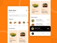 Food Online App UI