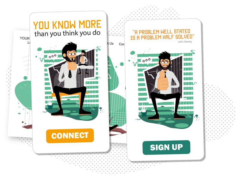 Few more from Rogerio .... mobile illustration male character man character illustrations mobile ui mobile thumbs up male character design design svg pack ai flat vector download character illustration