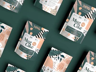 Lupaa Minute Mug Cake food packaging packaging design branding packaging