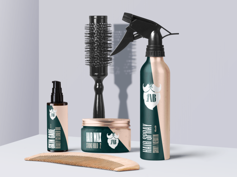 Brand products for barbers and barbershops