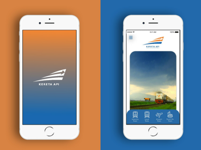 Redesign splashscreen and homepage mobile application homepage splashscreen mobile application ui