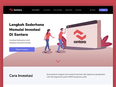 Landing Page web design website design ui illustration flat