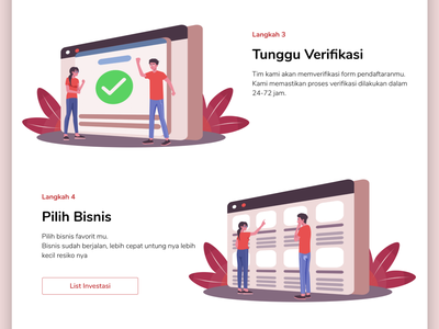 """How To"" Page web web design website vector ux ui illustration flat design"