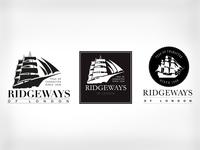 Ridgeways UK tea, new logo design