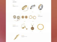Concept Jewery Category Landing Page