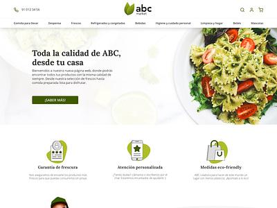 Supermercado design ui shop grocery supermarket web ecommerce