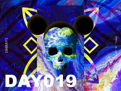 ※ 019 ※100days | design a poster everyday