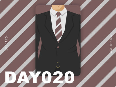 ※ 020 ※100days  | design a poster everyday
