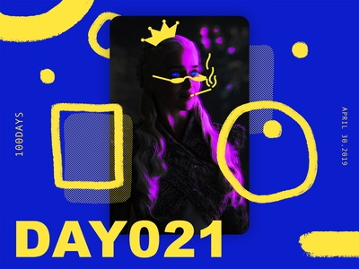 ※ 021 ※100days | design a poster everyday