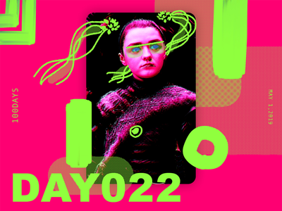 ※ 022 ※100days  | design a poster everyday