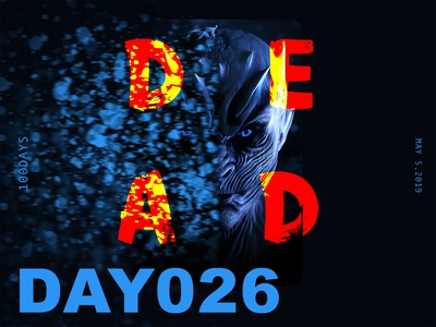 ※ 026 ※100days | design a poster everyday