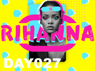 ※ 027 ※100days  | design a poster everyday