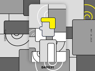 ※ 031 ※100days | design a poster everyday