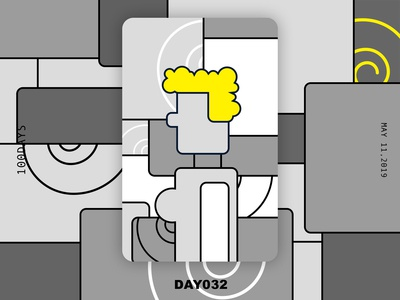 ※ 032 ※100days | design a poster everyday
