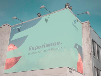 Advertising concept Finnair 2
