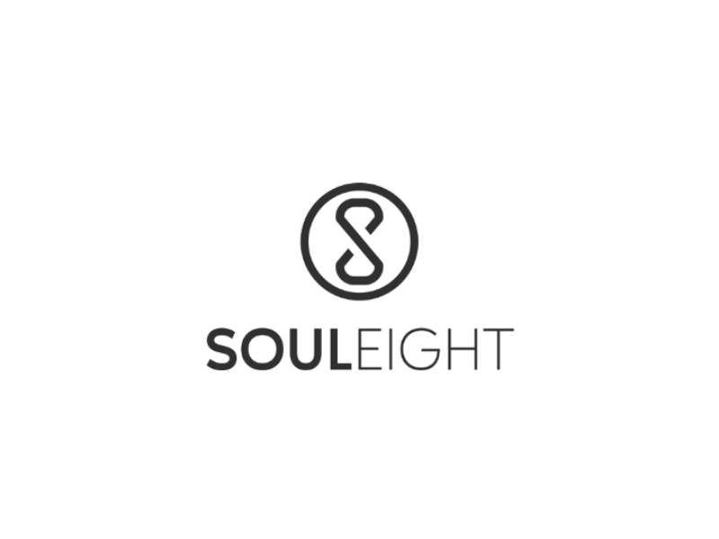 Soul Eight logo vector typograpgy type minimal logo identity icon flat design clean branding