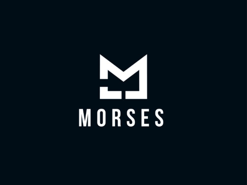 Morses logo vector typograpgy type minimal logo identity icon flat design clean branding