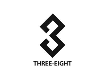 Three-Eight logo