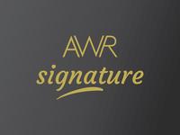 AWR Signature Logo