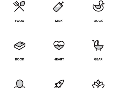 Random Stuff Free Iconset free freebie psd line illustrator ai iconset icons