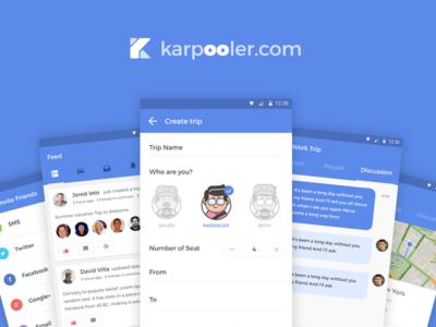 Karpooler Android App