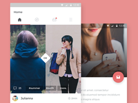 New Social App Android