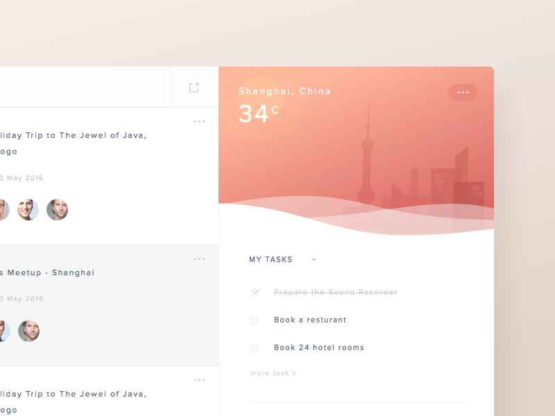 Planner Dashboard Concept productivity task management social dashboard illustration team freebie sketch psd