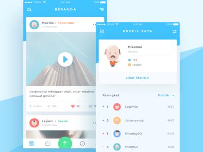 Smart City iOS App Redesign