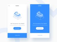 Getsafe Mobile Landing Page