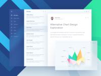 Fluent Design Email App