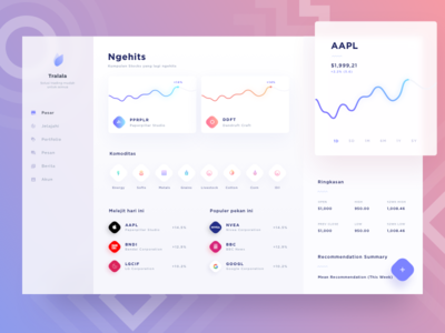 Stock App Dashboard