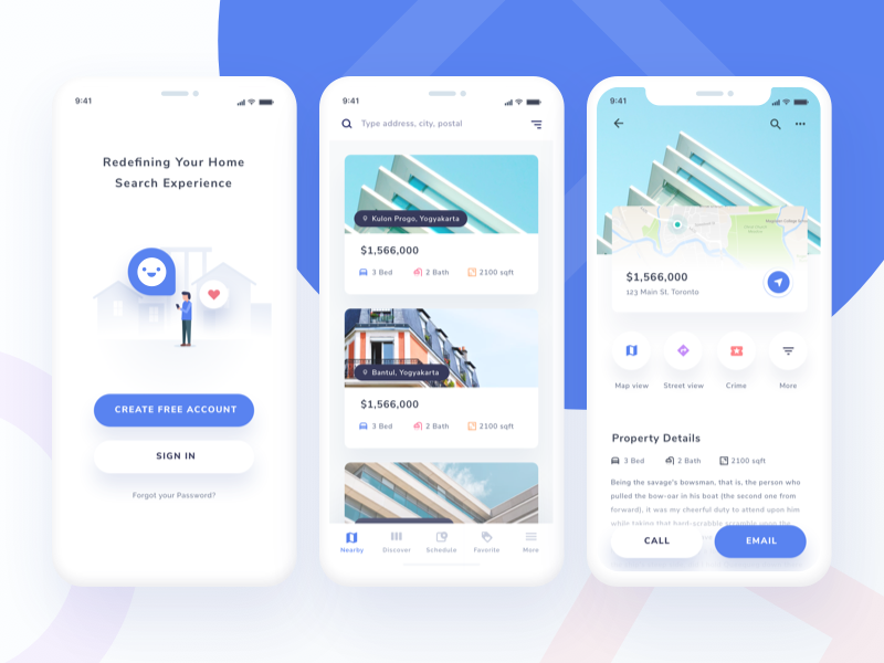 Home Finder App Exploration by Ghani Pradita - Dribbble