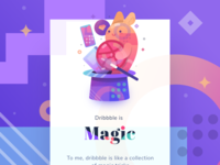 Dribbble is Magic !