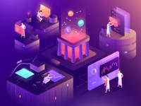 Cryptocurrency Illustration