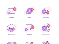 Cryptocurrency  icons full