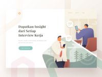 Interview Insight Landing Page