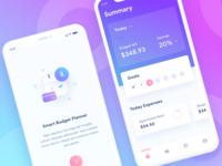 Budget Planner iOS App