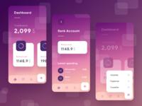 Wallet app dribbble