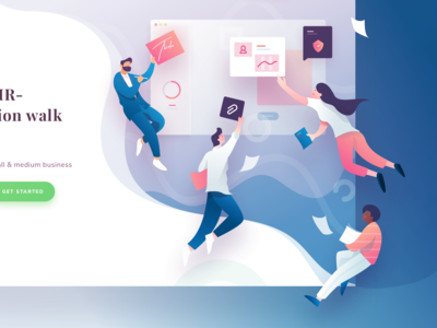 Alexis Landing Page Illustration