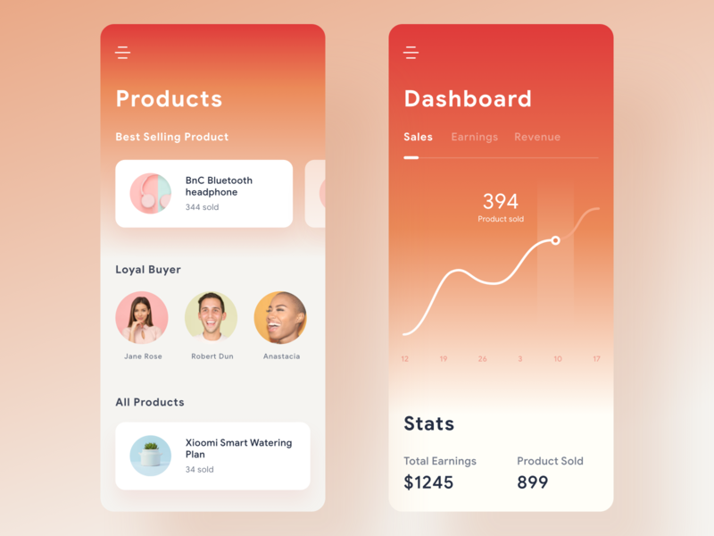 Commerce Dashboard App