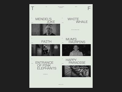 Home Page farfor.studio farfor film page home page animation video exploration website web design web ui design ui