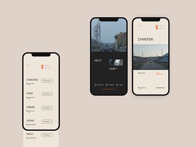 Mobile layout typography type ui design ui mobile layout mobile web design website web
