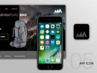 #dailyUI05 - App Icon