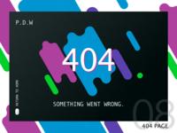 #dailyUI08 - 404 page