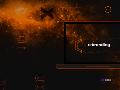 MRX - Rebranding Behance Case sketch indesign illustrator after effects photoshop print website user interface branding web design ux design graphic design