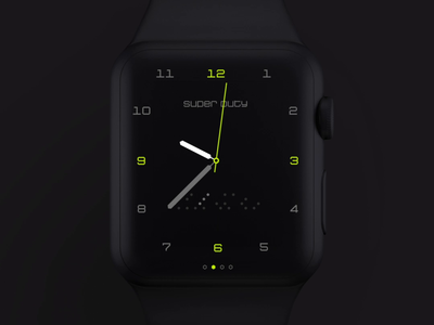 Super Duty Watch Face Concept wearables wearable ui hadzhiev xd strahil sevilaxiom apple watch watchface watch apple adobexd